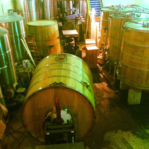 Wine Tanks Building in Process