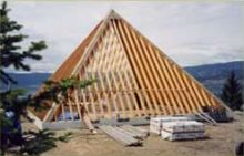 Contruction of Pyramid almost complete