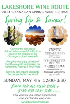 Lakeshore Wine Route - Spring Sip & Savour!