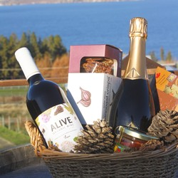2 Bottle Gift Basket - Red Wine